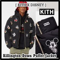 Kith x Disney Killington Down Puffer Jacket Black 2019 FW 19