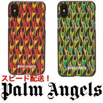 新作! 国内発送 PALM ANGELS BURNING IPHONE Xケース
