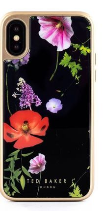TED BAKER スマホケース・テックアクセサリー 【国内発】TED BAKER iPhoneケース 7/8/X/XS 花柄 ハードケース(2)