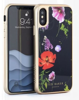 TED BAKER スマホケース・テックアクセサリー 【国内発】TED BAKER iPhoneケース 7/8/X/XS 花柄 ハードケース(3)