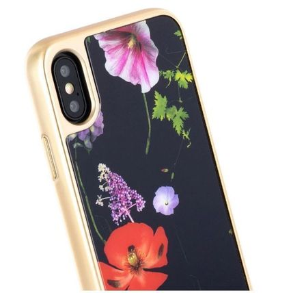 TED BAKER スマホケース・テックアクセサリー 【国内発】TED BAKER iPhoneケース 7/8/X/XS 花柄 ハードケース(4)