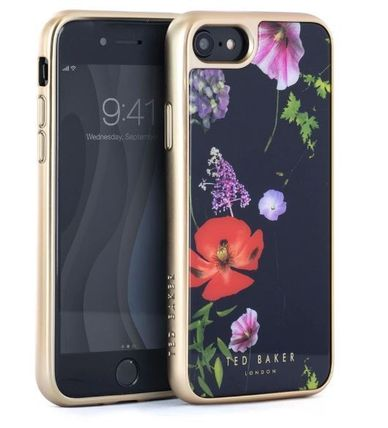 TED BAKER スマホケース・テックアクセサリー 【国内発】TED BAKER iPhoneケース 7/8/X/XS 花柄 ハードケース(6)