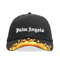 新作! 国内発送 PALM ANGELS BURNING CAP