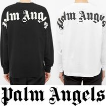 新作! 関税送料込み Palm Angels Long Sleeve Mock Neck Tee