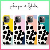 【Harper&Blake】Wavy Shapes Polka Dot*Phone Case/4色