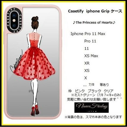 Casetify スマホケース・テックアクセサリー Casetify iphone Gripケース♪The Princess of Hearts♪