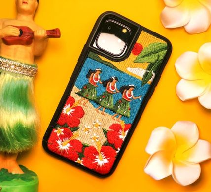 wiggle wiggle スマホケース・テックアクセサリー WIGGLE WIGGLE★Embroidery Case 刺繍iPhoneケース Ver.3(9)