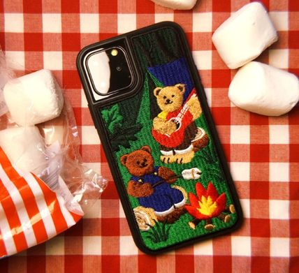 wiggle wiggle スマホケース・テックアクセサリー WIGGLE WIGGLE★Embroidery Case 刺繍iPhoneケース Ver.3(10)