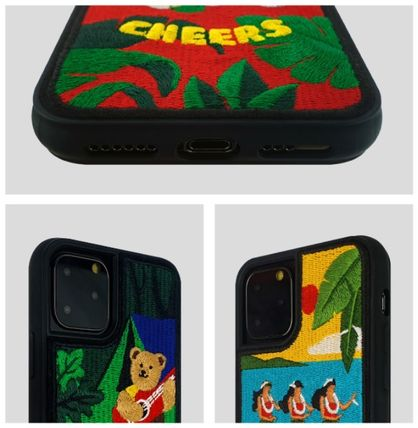 wiggle wiggle スマホケース・テックアクセサリー WIGGLE WIGGLE★Embroidery Case 刺繍iPhoneケース Ver.3(14)