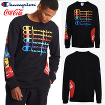 日本未発売コラボ!Champion x Coca-Cola Long Sleeve T-Shirt