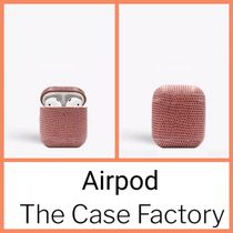 The Case Factory★AirPodリザードローズ★iPhone11