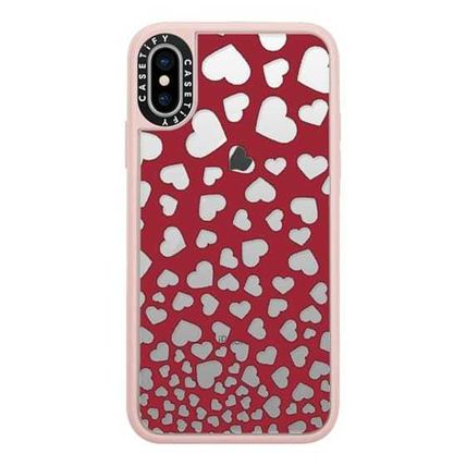 Casetify スマホケース・テックアクセサリー Casetify iphone Gripケース♪Modern red white romantic...♪(2)