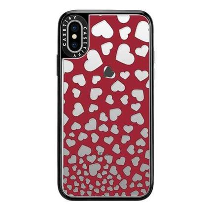 Casetify スマホケース・テックアクセサリー Casetify iphone Gripケース♪Modern red white romantic...♪(6)
