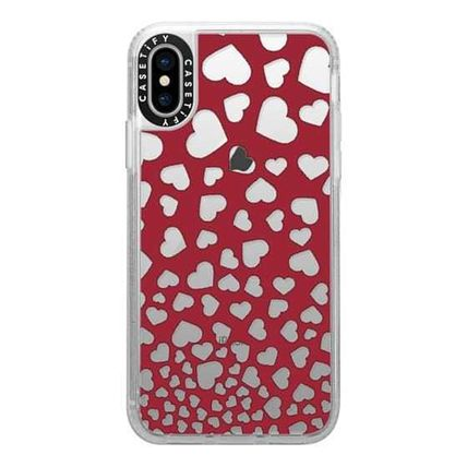 Casetify スマホケース・テックアクセサリー Casetify iphone Gripケース♪Modern red white romantic...♪(10)