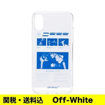 OFF-WHITE プリント iPhone X ケース