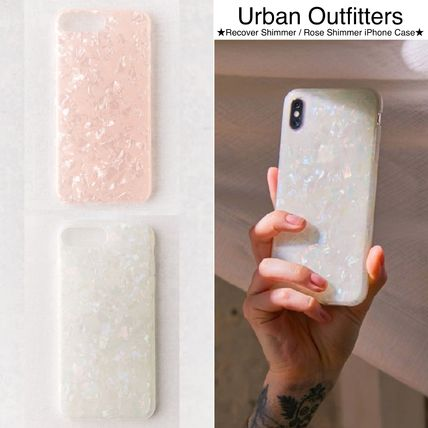 Urban Outfitters スマホケース・テックアクセサリー 【Urban Outfitters】キラキラ!シリコン●Shimmer iPhoneCase●