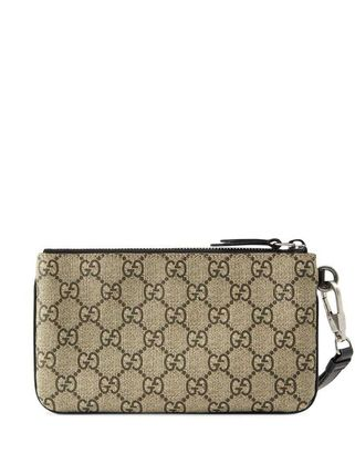GUCCI スマホケース・テックアクセサリー 関税込み◆GG Supreme snake print iPhone pouch(3)