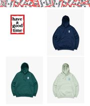 ★HAVE A GOOD TIME★ Blue Mini Frame Pullover Hoodie 3色