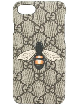 GUCCI スマホケース・テックアクセサリー 関税込み◆GG Supreme Bee phone case(2)