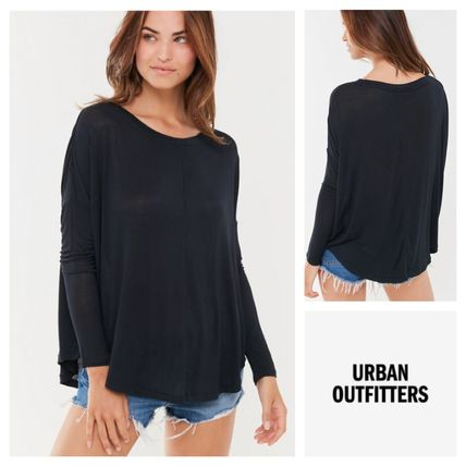 Urban Outfitters Tシャツ・カットソー 即発送★Urban Outfitters★長袖Tシャツ・無地・軽量素材