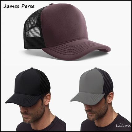 JAMES PERSE キャップ JAMES PERSE★SCUBA TRUCKER HAT キャップ 3色