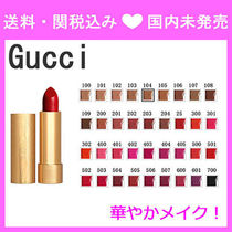 Gucci Rouge a Levres Satin Lipstick (全36色)
