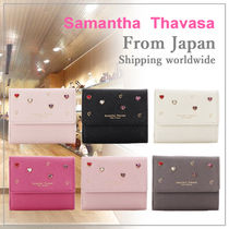 Samantha Thavasa Petit Choice ハートスタッズ 折財布