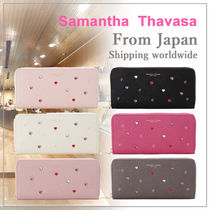 Samantha Thavasa Petit Choice ハートスタッズ 長財布