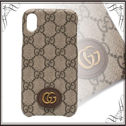 GUCCI スマホケース・テックアクセサリー 関税込み◆Ophidia iPhone XR case