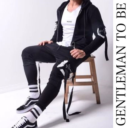 Gentleman To Be セットアップ 関税/送料込み【gentleman to be】スウェット上下セットアップ