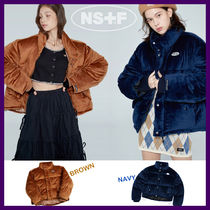 ◆NSF◆ 19FW FANCY VELOUR SHORT DOWN JACKET (全2色) 韓国発