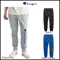 NEW!! ☆Champion☆ Reverse Weave Joggers, 90's Flocked Logo
