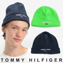 TOMMY JEANS ロゴニットキャップ 関税なし 国内買付 すぐ届く