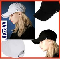 ☆韓国の人気☆【VARZAR]☆Stud logo over fit ball cap☆2色☆