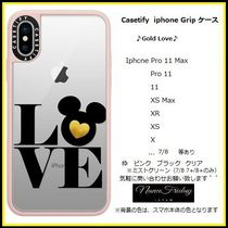 Casetify iphone Gripケース♪Gold Love♪