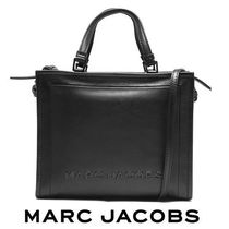 19AW ☆MARC JACOBS☆ THE BOX SHOPPER 2wayバッグ BLACK♪