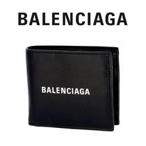 19AW ☆Balenciaga☆ EVERYDAY Square 折り財布 NERO♪