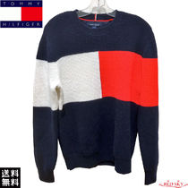 【☆新作大人気★】Tommy Hilfiger Knit sweater Flag セーター