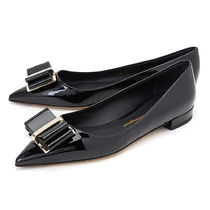 【関税負担】 SALVATORE FERRAGAMO FLAT SHOES