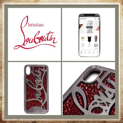 Christian Louboutin スマホケース・テックアクセサリー ★Christian Louboutin《 RICKY iPhone X CASE 》送料込み★