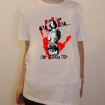 JAPAN LIMITEDモデル!!★NO COMMENT PARIS★ red hand print
