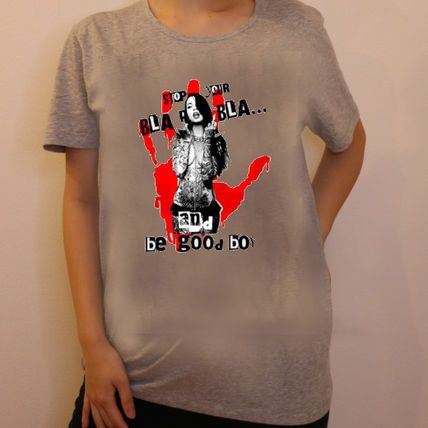 NO COMMENT PARIS Tシャツ・カットソー JAPAN LIMITEDモデル!!★NO COMMENT PARIS★ red hand print(3)