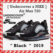 US 4-7 Undercover x Nike Air Max 720 BLACK 2019 AW FW 19