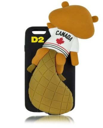 D SQUARED2 iPhone・スマホケース D SQUARED2☆Black Silicone iPhone 6 Cover カバー 国内発送(2)