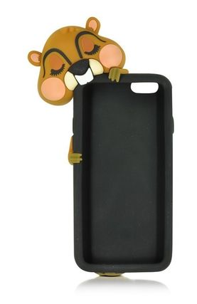 D SQUARED2 iPhone・スマホケース D SQUARED2☆Black Silicone iPhone 6 Cover カバー 国内発送(9)