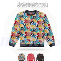 14 Week Supreme FW 19 Scatter Text Crewneck