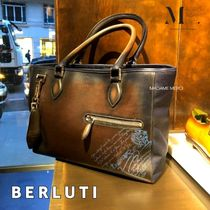 【BERLUTI】パリ直営店☆Scritto Small Toujours トート◆追跡付