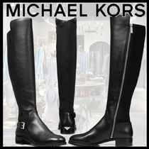 """【MICHAEL KORS】Branson Stretch Leather Boot """