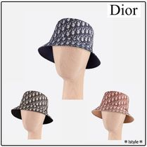 [DIOR] TEDDY-D バケット HAT CD OBLIQUE リバーシブル ハット