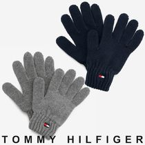 TOMMY HILFIGER リブニットフラッググローブ 国内買付 すぐ届く
